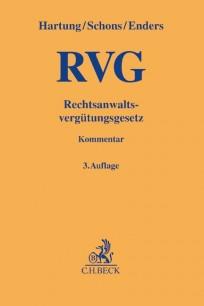 RVG. Rechtsanwaltsvergütungsgesetz, Kommentar