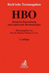 Hessische Bauordnung (HBO) und ergänzende Bestimmungen