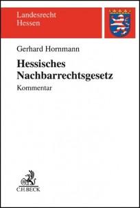 Hessisches Nachbarrechtsgesetz. Kommentar