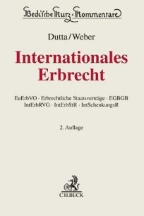 Internationales Erbrecht. Kommentar