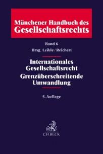 Internationales Gesellschaftsrecht, Grenzüberschreitende Umwandlungen