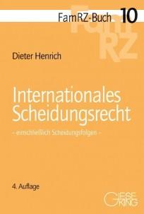 Internationales Scheidungsrecht - einschließlich Scheidungsfolgen