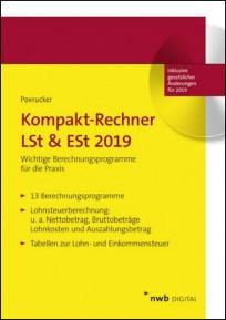 Kompakt-Rechner LSt & ESt 2019. CD-ROM