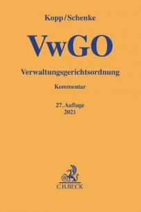 VwGO Verwaltungsgerichtsordnung. Kommentar