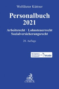 Personalbuch 2021