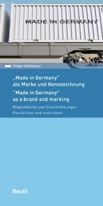 Made in Germany - als Marke und Kennzeichnung