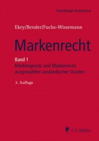 Markenrecht Kommentar, Band 1 Markengesetz