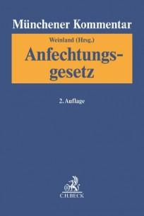 Münchener Kommentar zum Anfechtungsgesetz.