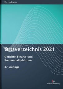 Ortsverzeichnis 2021