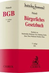 Bürgerliches Gesetzbuch. BGB-Kommentar
