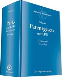 Patentgesetz mit Europäischem Patentübereinkommen. Kommentar