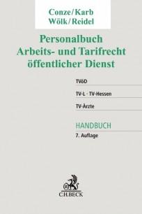 Personalbuch Arbeits- und Tarifrecht öffentlicher Dienst