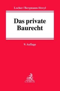Das private Baurecht