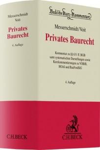 Privates Baurecht. Kommentar