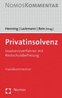 Privatinsolvenz. Handkommentar