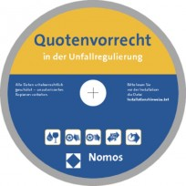 Quotenvorrecht in der Unfallregulierung. CD-ROM