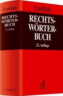Creifelds Rechtswörterbuch