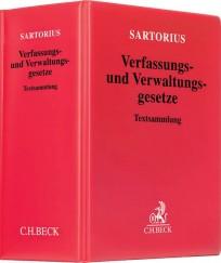 Sartorius. Verfassungs- und Verwaltungsgesetze. Hauptband