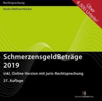 SchmerzensgeldBeträge 2019. CD-ROM-Ausgabe