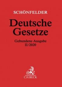 Schönfelder Deutsche Gesetze. Gebundene Ausgabe II/2020