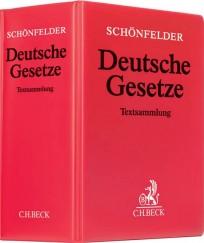 Schönfelder Deutsche Gesetze. Hauptband