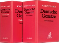 Schönfelder Deutsche Gesetze. Kombi-Angebot