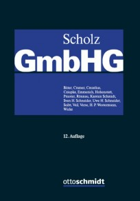 GmbH-Gesetz. Kommentar in 3 Bänden