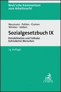 Sozialgesetzbuch IX - SGB IX Kommentar