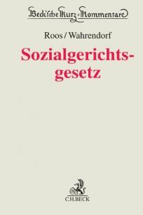 Sozialgerichtsgesetz - SGG Kommentar