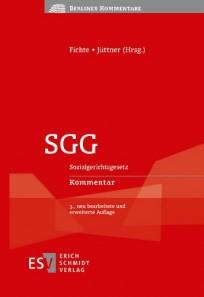 SGG - Sozialgerichtsgesetz Kommentar