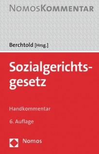 Sozialgerichtsgesetz (SGG). Handkommentar