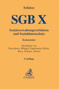 SGB X. Sozialverwaltungsverfahren und Sozialdatenschutz. Kommentar
