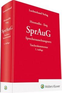 SprAuG - Sprecherausschussgesetz Kommentar