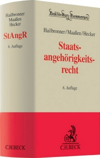 Staatsangehörigkeitsrecht: StAngR-Kommentar
