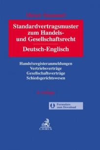 Standardvertragsmuster zum Handels- und Gesellschaftsrecht. Deutsch - Englisch