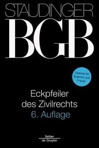 Staudinger BGB - Eckpfeiler des Zivilrechts 2018/2019