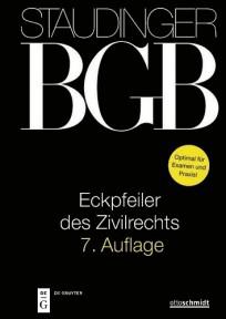 Staudinger BGB - Eckpfeiler des Zivilrechts 2020