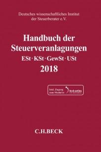 Handbuch der Steuerveranlagungen 2018