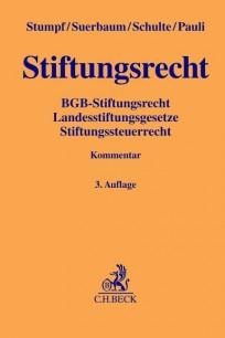 Stiftungsrecht, Kommentar