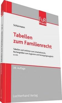 Tabellen zum Familienrecht, TzFamR