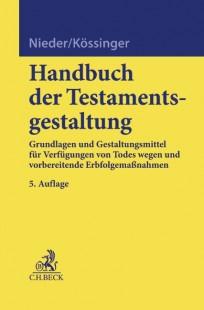 Handbuch der Testamentsgestaltung