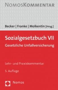 Sozialgesetzbuch VII. Gesetzliche Unfallversicherung