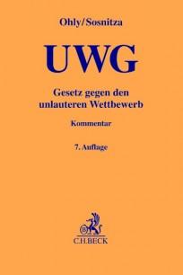 Gesetz gegen den unlauteren Wettbewerb. UWG-Kommentar