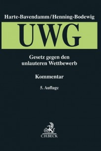 Gesetz gegen den unlauteren Wettbewerb (UWG). Kommentar
