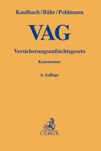 Versicherungsaufsichtsgesetz (VAG). Kommentar