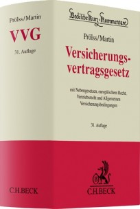 Versicherungsvertragsgesetz (VVG). Kommentar