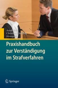Praxishandbuch zur Verständigung im Strafverfahren