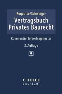 Vertragsbuch Privates Baurecht