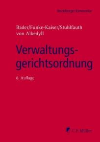 Verwaltungsgerichtsordnung (VwGO). Kommentar