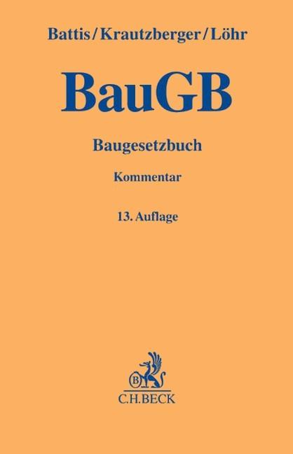 baugesetzbuch baugb kommentar battis krautzberger. Black Bedroom Furniture Sets. Home Design Ideas